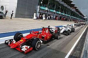 Формула 1 Новость Гран При Малайзии 2015 – стартовая решетка