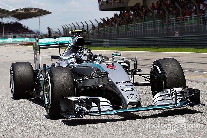 Rosberg loin du duel pour la victoire en Malaisie