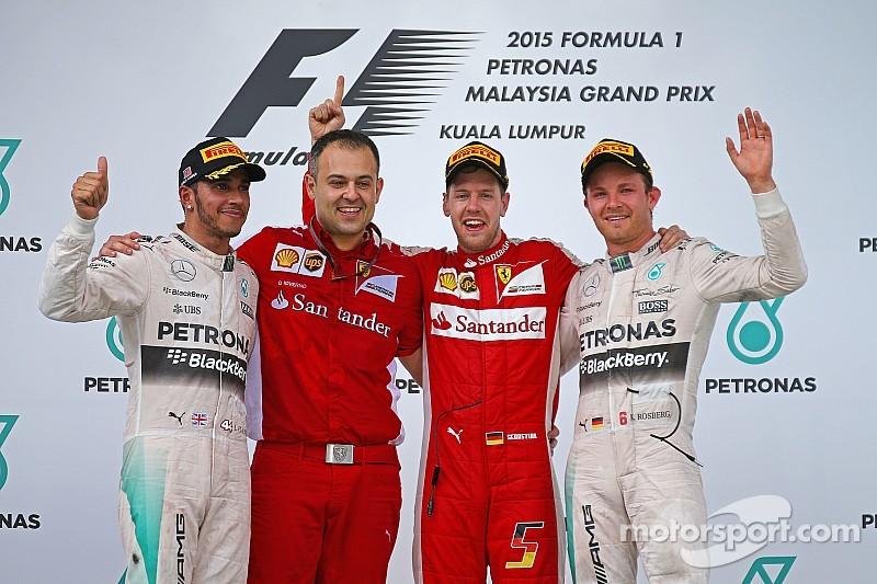 """Hamilton : """"Bien pour la F1 de voir un autre vainqueur"""""""