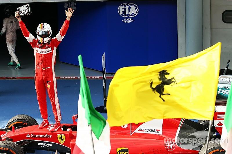 Ferrari reborn as strong championship contender winning the Malaysian GP