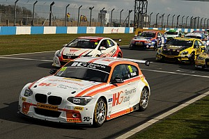 BTCC Qualifying report Priaulx claims pole position on BTCC return