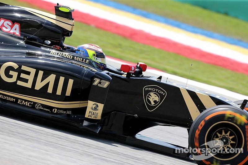 """""""Victime"""" des deux premiers GP, Maldonado vise un Top 10"""