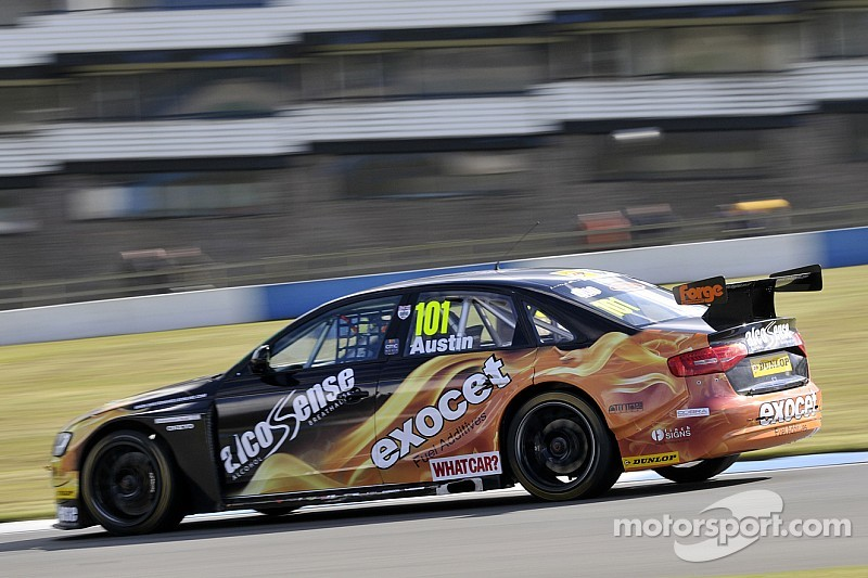 Strong start and nearly a win for Rob Austin Racing as new BTCC season starts at Brands Hatch