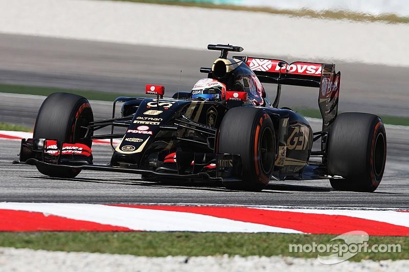 Grosjean: Perez apologised for Sepang crash