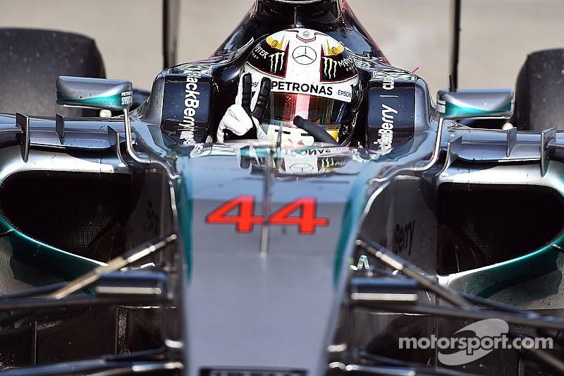 Lewis Hamilton y Marc Márquez, frente a frente