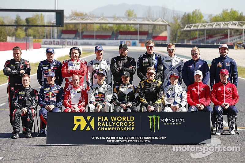World RX teams and TV deals presented at Barcelona media launch