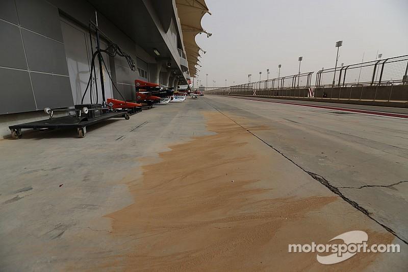 Tormenta de arena se presentó en Bahrein