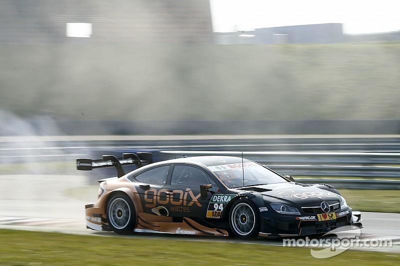 Верляйн завершил тесты DTM с лучшим временем