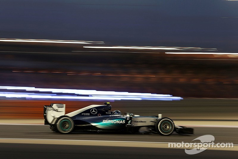 Rosberg pips Hamilton in second Bahrain GP practice