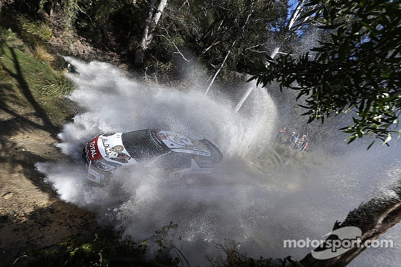 Night stage, but no Super Special for Rally Oz