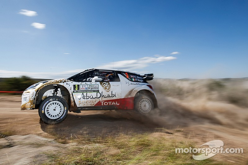 Meeke leads Citroen one-two as VW's challenge collapses