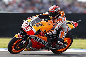 MotoGP Preview Positive day for injured Marquez in Spanish sunshine