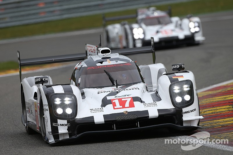 Pole position et triplé pour Porsche, intouchable à Spa!