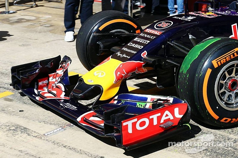Red Bull introduces new short nose