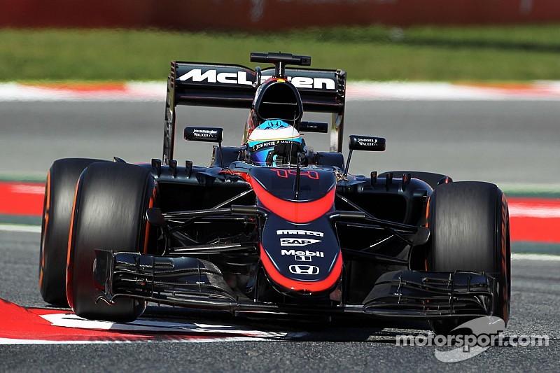 Alonso et McLaren contents de leurs évolutions