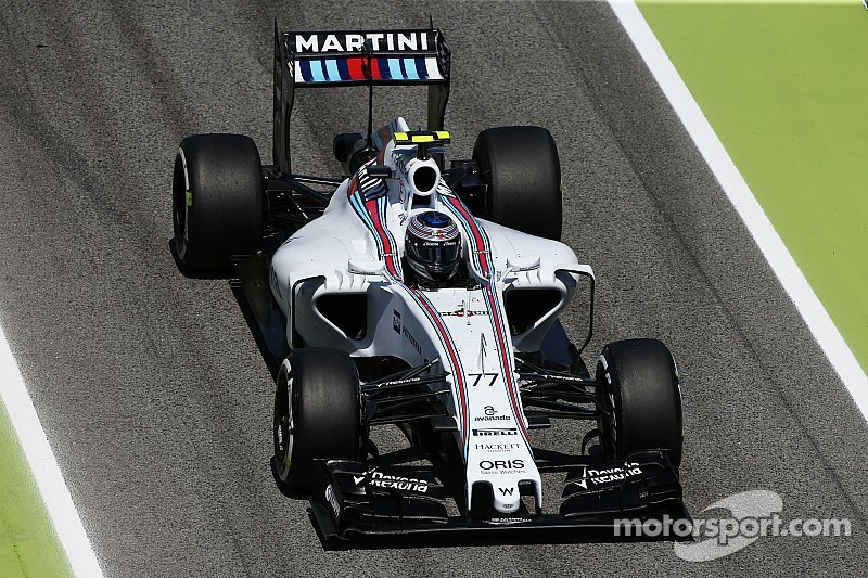 Bottas qualified fourth and Massa ninth for tomorrow's Spanish GP