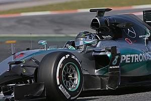 Formule 1 Résumé d'essais Essais privés - Rosberg largement en tête à Barcelone