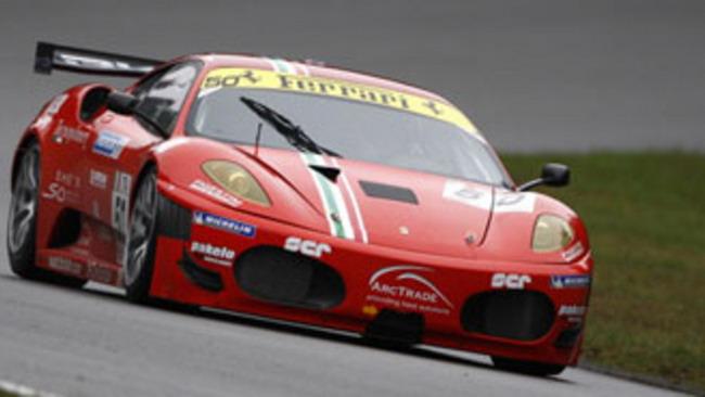 Le Mans Series: Fisichella su una F430 dell'AF Corse