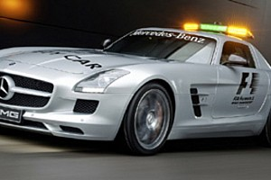 Mercedes SLS AMG safety car 2010 della F1