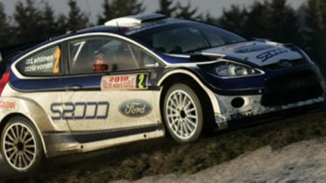 WRC: Ford prova la Fiesta con il motore della Focus
