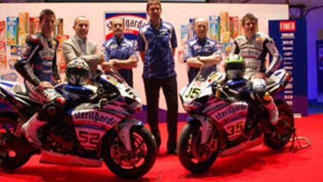 Yamaha Sterilgarda WSBK 2010: la conferenza
