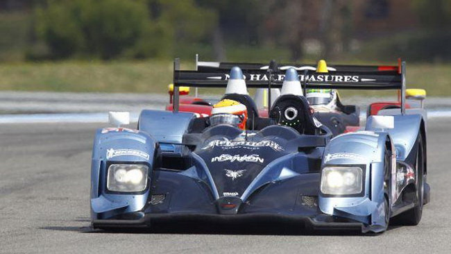 Leventis sbatte nel warm-up: a richio la pole di LMP2