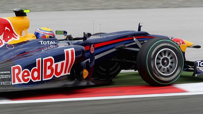 Webber aveva ridotto potenza prima del crash
