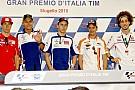 Lorenzo non sente la pressione, Rossi dolorante