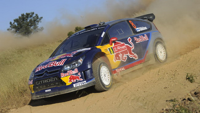 Finalmente Raikkonen ha vinto con la C4 WRC