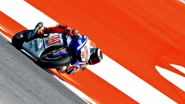 Jorge Lorenzo in pole position a Barcellona