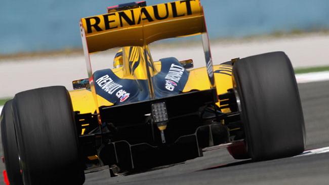 La Renault con l'F-Duct a Hockenheim
