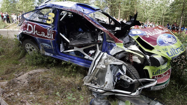 Hirvonen ha cancellato il botto in Finlandia