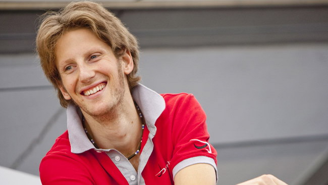 Grosjean tester per la Pirelli a Monza