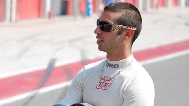 Melandri al Rally di Monza con una Lotus Exige
