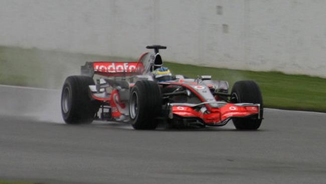 Dean Smith ha provato la McLaren a Silverstone