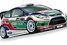 Ecco la livrea delle Ford Fiesta RS WRC ufficiali