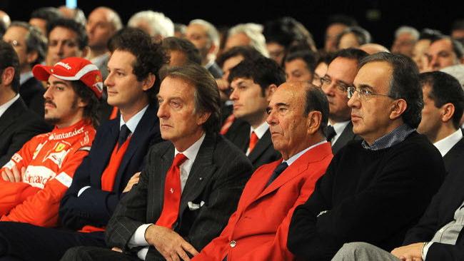 Anche John Elkann e Marchionne a Maranello