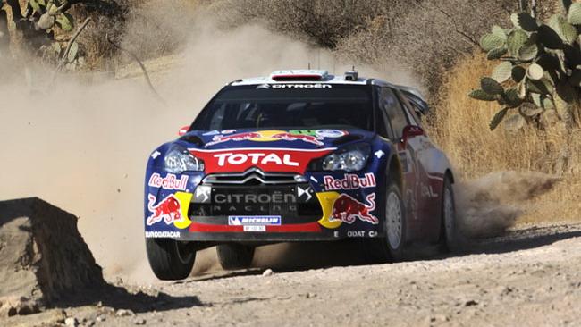 Messico, PS14: Loeb al top dopo il giro mattutino