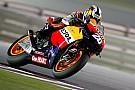 Losail, Day 2: Pedrosa leader, Rossi cade ancora