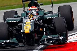 Formula 1 Ultime notizie La Lotus è cresciuta nelle prestazioni a Sepang