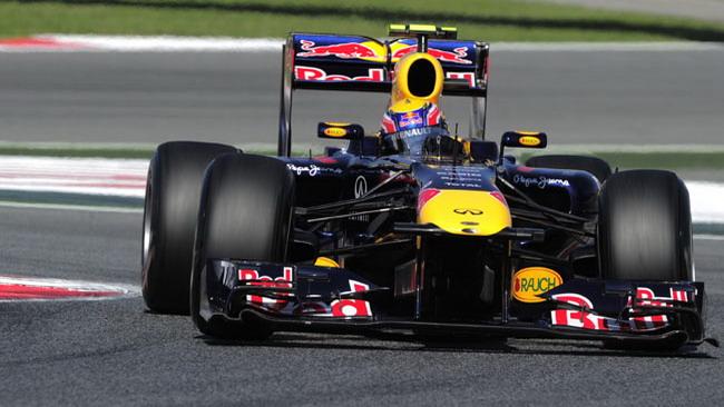 Barcellona, Libere 2: ancora Webber il più veloce