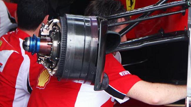 La Ferrari con nuovi freni per vincere!