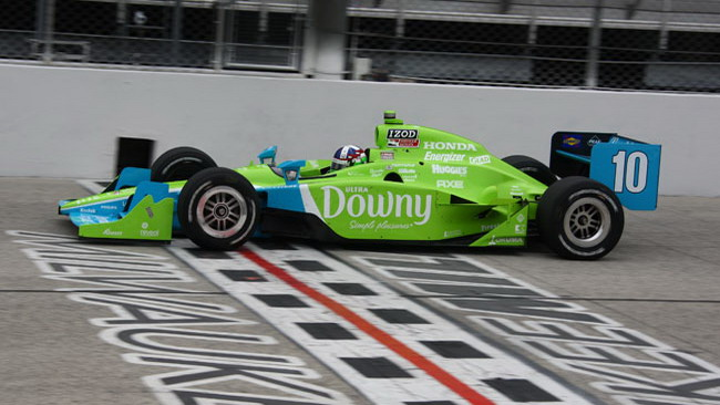 Franchitti vince a Milwaukee e aggancia Power