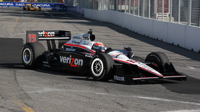 Will Power svetta nelle qualifiche di Toronto