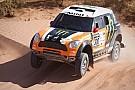 Il team X-Raid al via della Dakar con ben cinque Mini!