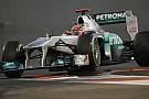 La Mercedes porta il marchio AMG sulle sue F.1