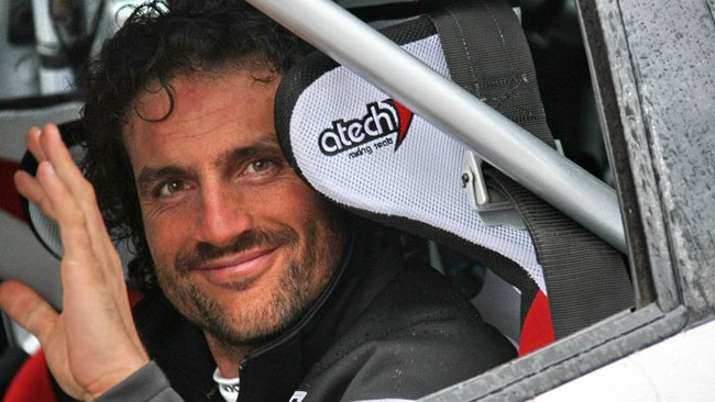 Luca Betti al via dell'Europeo con la Racing Lions