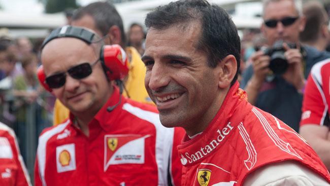 Gené con la Ferrari F2008 dà spettacolo a Doha