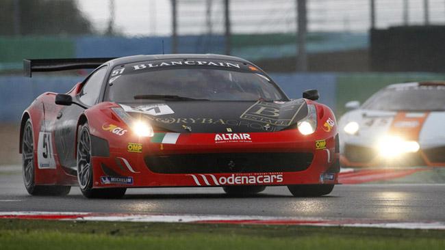 Quattro Ferrari 458 Italia per AF Corse