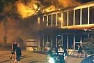Un incendio ha danneggiato l'hospitality Lotus